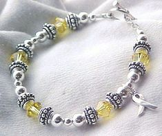 spina bifida awareness | Spina Bifida Awareness Bracelet by sweetpea321 on Etsy