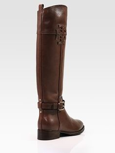 rich, dark brown boots