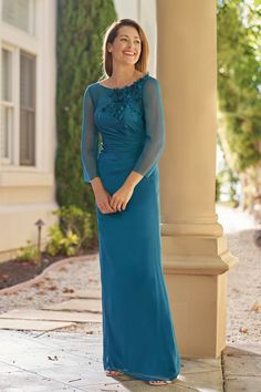 7342776a0c836 J215003 Jade by Jasmine Bridal Tiffany Chiffon Mother of the Bride or  Mother of the Groom