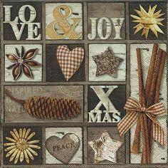 Ubrousek - Love, Joy, Xmas
