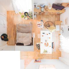 一人暮らしインテリア50選!ワンルームで狭くても素敵なお部屋をつくるコツをご紹介☆   folk