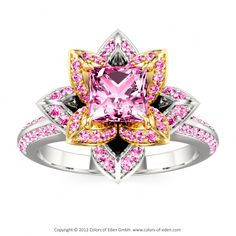 Lotus Ring...wow...this is gorgeous!