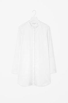 COS   Wide-cuff tunic shirt