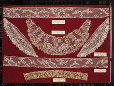 Flemish, Brussels, bobbin and needle lace 1750-1800