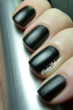 SoFlaJo Matte Love Collection - The Blacks BLACK DAGGER   Pointless Cafe