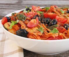 Mediterranean Vegetable Spaghetti