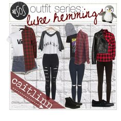 5sos outfit series: Luke Hemmings