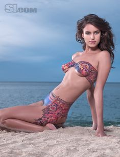 Irina Shayk - Body Painting - 2009 Sports Illustrated Swimsuit Edition - SI.com