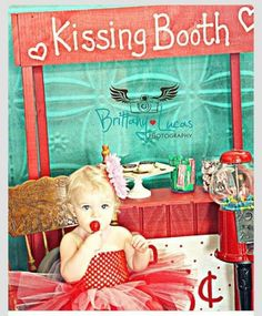 Kissing booth pic