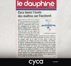 #cyca // L'agence C Y C A dans le Dauphiné Libéré du 28 janvier 2014 // @cyca