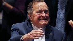 Expresidente de EEUU George H.W. Bush sufre fractura de cuello al caerse en su casa