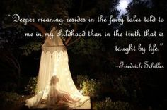 One of my favorite #quotes about the power of fairy tales and their influence on children and adults.  #literature
