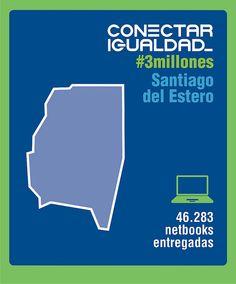 Conectar Igualdad #3millones Santiago del Estero