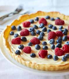 A really amazing looking tart to make is this lemon curd tart , that would be great to make for any occasion really like a dinner party , BBQ or Sunday dessert after a roast …