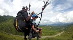 Paragliding is the newest addition to our stable of excellent day trips you can embark on from #KotaKinabalu in #Sabah #Borneo. Soar with the birds for an unforgettable Borneo experience.