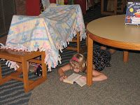 Tiny Tips for Library Fun: Spooky Camp-out, walking smores recipe, use for a snowed in program in Jan 2016 with winter time stories, have families bring blankets and pillows.