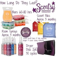 How Long Do They Last? Good to know... :)https://taylorramirez.scentsy.us		taylormakesscents@gmail.com https://www.facebook.com/TaylorMakesScents