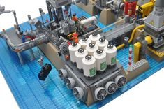 Until today, you never knew you wanted a LEGO desalination plant #legoarchitecture