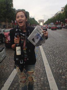 Jang Keun Suk in Paris