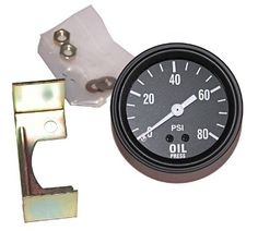 Jeep Oil Pressure Gauges  Willys and Jeep Oil Pressure Gauges for MB, GPW, CJ2A, CJ3A, M38, M38A1, CJ5, CJ7, Truck and Station Wagon.