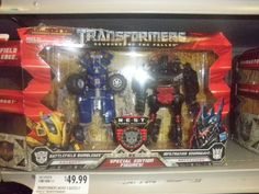 Transformers Toy Swapping