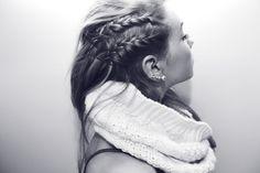 Idea with short hair!