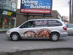 FASTSIGNS® of Vancouver, BC has custom sign and banner solutions to fit any need for your entire business. Vehicle Wraps, Car Wrap, Be Yourself Quotes, Vancouver, Sushi, Banner, Restaurant, Japanese, Vehicles