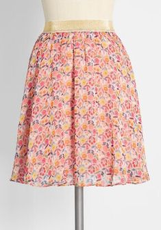 New Arrival Dresses and Clothing for Women | ModCloth Cute Skirts, Mini Skirts, Women's Skirts, Green And Orange, Teal Green, Purple, Molly Bracken, City Outfits, A Line Shorts