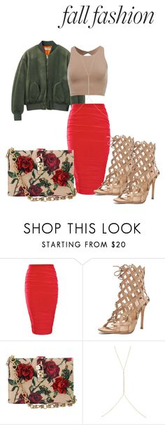 """""""Untitled #92"""" by aantunes921 on Polyvore featuring Boohoo, Gianvito Rossi, Dolce&Gabbana and Ileana Makri"""