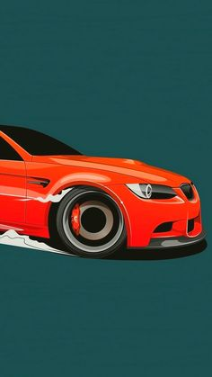 Car Minimalist Wallpaper 1080X1920 Bmw M3, Suv Bmw, Mercedes Auto, Mercedes Benz 300, Bmw Autos, Car Iphone Wallpaper, Bmw Wallpapers, Car Illustration, Car Posters