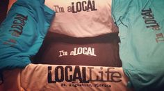 Cool gear! @locallifestaug  They're HEEEEEERE!  St Augustine Locals you asked you receive! Long sleeve t-shirts with sleeve prints Hoodies with sleeve prints and super soft t-shirts! Stay tuned will be available for purchase from our link in bio SOON!  #locallifestaug #locallife #imalocal #imalocalnow #locallifestyle #shoplocal #skinnylizardtshirtprinters #screenprintedshirt #floridalife #stjohnscounty #local #stalocal  #everyonesalocalsomewhere #beachlife #staugustinefl #staugustine…