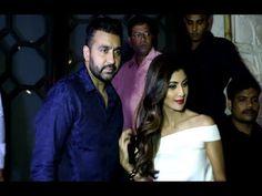 Shilpa Shetty with husband Raj Kundra at Rohini Iyer's birthday bash.