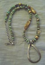 Silpada sterling silver, abalone, howlite & pearl necklace