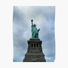Statue Of Liberty, New York City, Art Prints, Printed, Awesome, Artist, Poster, Travel, Products