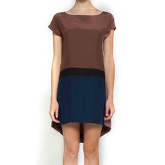 Color Block Dress Dusk Convo, $69, now featured on Fab.