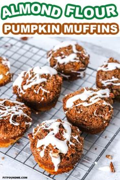 Enjoy these pumpkin muffins without the guilt! You won't find a more delicious healthy pumpkin muffin than these that use swerve instead of cane sugar, but taste just as good! The streusel topping with cream cheese frosting drizzled on top plus the moist almond flour used make these a winner in any household! Keto safe with the low carb ingredients but sweet enough for the pickiest sweet tooth around. Do your family a favor and make these tonight! #pumpkinmuffins #ketomuffins #almondflour… Healthy Sugar, Healthy Cake, Healthy Pumpkin, Healthy Breakfast Recipes, Healthy Recipes, Almond Milk Cheese, Almond Flour, Pumpkin Pecan Pie, Pumpkin Puree