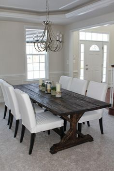 Diy Table For Dining Room - Hit DIY Crafts