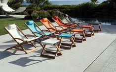 Beacher Lounge Chair for dock