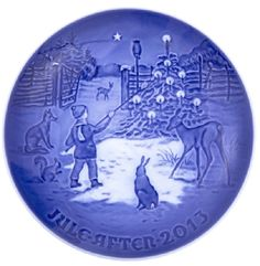 BING & GRONDAHL 2013 Christmas Plate. is the title of the 2013 Bing and Grondahl Christmas plate, the 119th plate in the series – the longest running and most popular series of collector plates ever produced. | eBay!