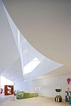 VitraHaus at the Vitra Campus, Weil am Rhein, Germany by Herzog & de Meuron Architects