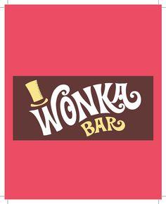 Free Wonka Bar Wrapper Printable Party Invite Chocolate Bar Wrappers, Candy Bar Wrappers, Chocolate Wonka, Chocolates, Cool Iphone Cases, Iphone 4s, Charlie Chocolate Factory, Free Willy, Willy Wonka