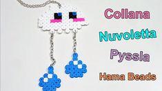 ✿ Collana Nuvoletta con Pyssla - Hama Beads Tutorial ✿