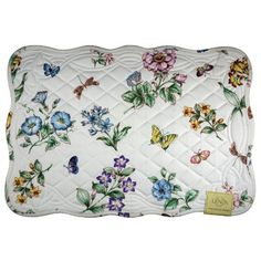 Lenox Butterfly Meadow Quilt, Pack of 4 Placemats, Ivory Lenox http://www.amazon.com/dp/B003981N1K/ref=cm_sw_r_pi_dp_Fgflub0285Q1W