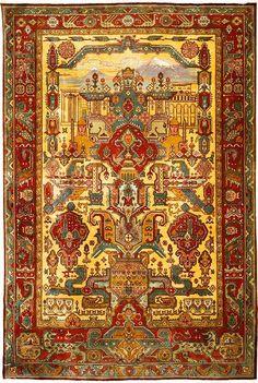 "Armenian carpet ""Մայր Հայաստան"" (Mayr Hayastan, meaning Mother Armenia) is dated to the early 20th century, No. 2358 from the Ministry of Culture of the Republic of Armenia."