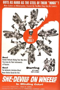 She-Devils on Wheels, 1968 - USA poster