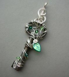 Ключ ... в качестве стильного аксессуара ...