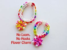 No Loom Rainbow Loom Tutorial Series