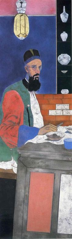 The Orientalist - R. B. Kitaj