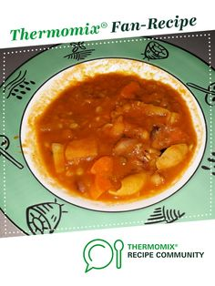 Recipe Rich Minestrone soup with pasta by KatheJames, learn to make this recipe easily in your kitchen machine and discover other Thermomix recipes in Soups. Vegetable Pasta, Vegetable Stock, Coriander Soup, Stuffed Pasta Shells, Mixed Vegetables, Recipe Community, Food N, Sweet Potato, Soup Recipes