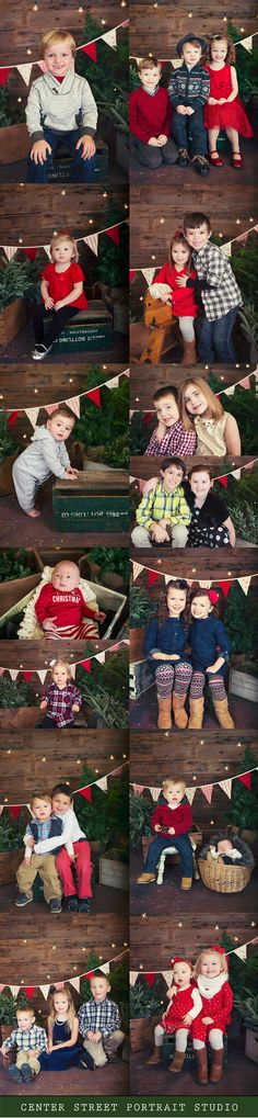 Watseka IL Central IL Child Photographer Christmas Mini Sessions Christmas Walk In Sessions Rustic Christmas Set